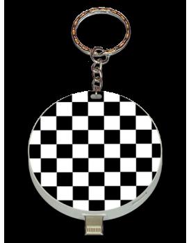 Black And White Checkered UPLUG