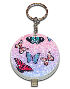 Glitter Butterfly UPLUG