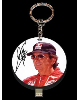Emerson Fittipaldi Autographed UPLUG
